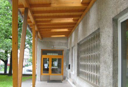 Zastřešení vstupu MŠ Ostrčilova | Ostrava | 2007